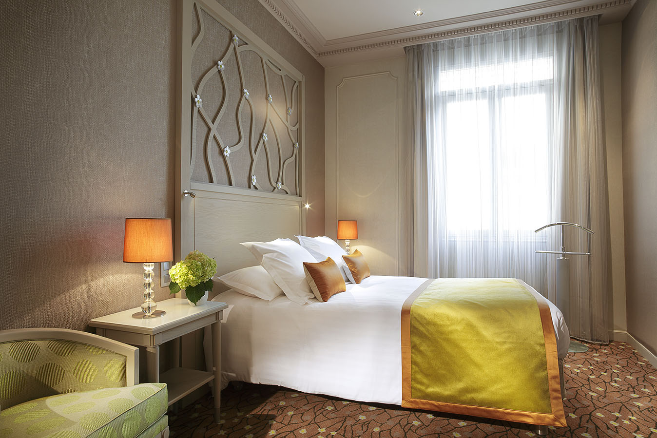 Double room with courtyard view Splendid Etoile Hotel